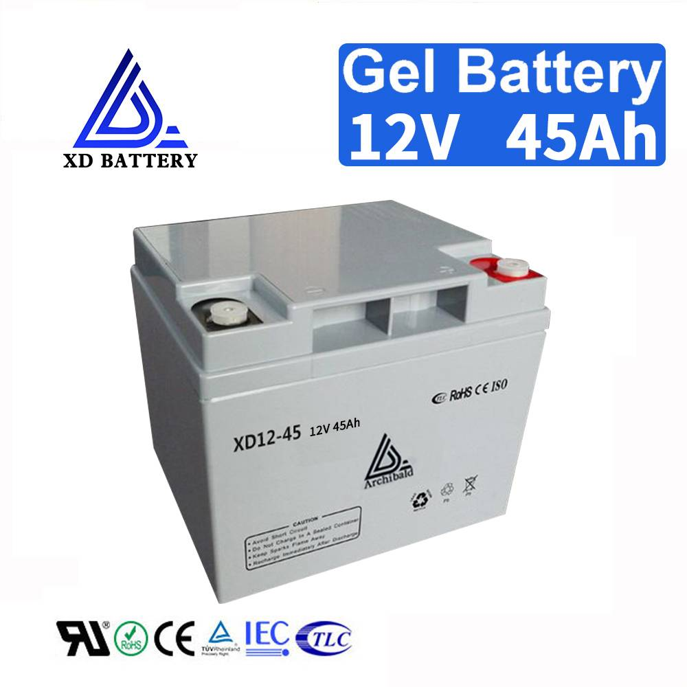 Rechargeable 12V 45AH Gel UPS Battery