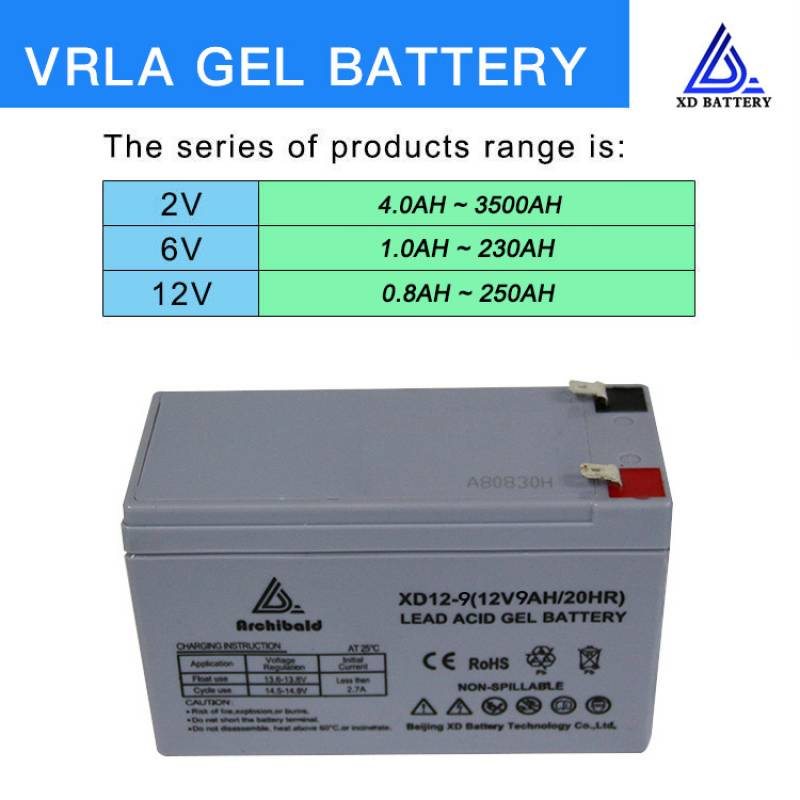 Lead Acid UPS Battery 12V 9AH Deep Cycle